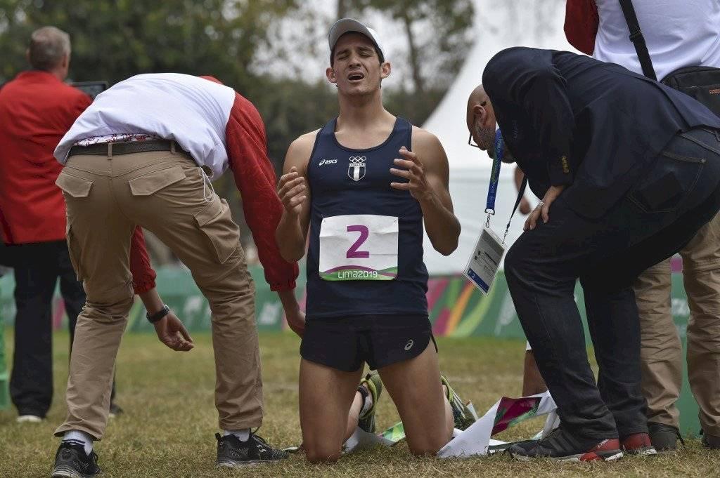Foto AFP | Charles Fernández también se convirtió en bicampeón panamericano