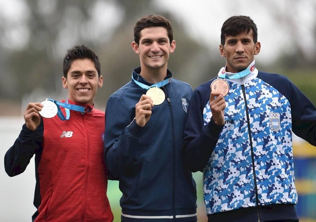 Foto AFP | Charles Fernández contó cómo logró la medalla de oro panamericana