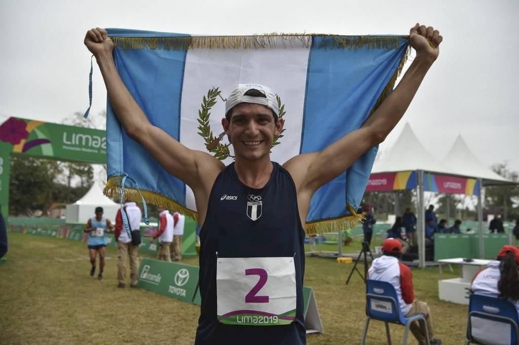 Foto AFP | Charles Fernández obtuvo con la medalla de oro, su clasificación a Juegos Olímpicos de Tokio 2020