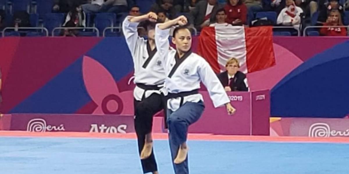 Medalla de oro para México en en poomsae en parejas