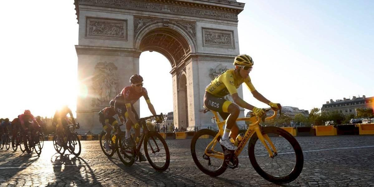Egan Bernal hace historia y pone a Colombia en lo más alto del Tour de Francia