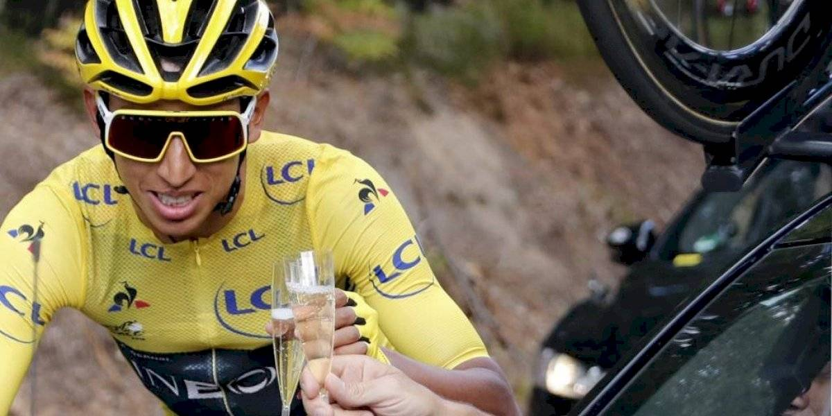 Egan Bernal pasó de pedir dinero a ganar 500 mil euros en el Tour de Francia