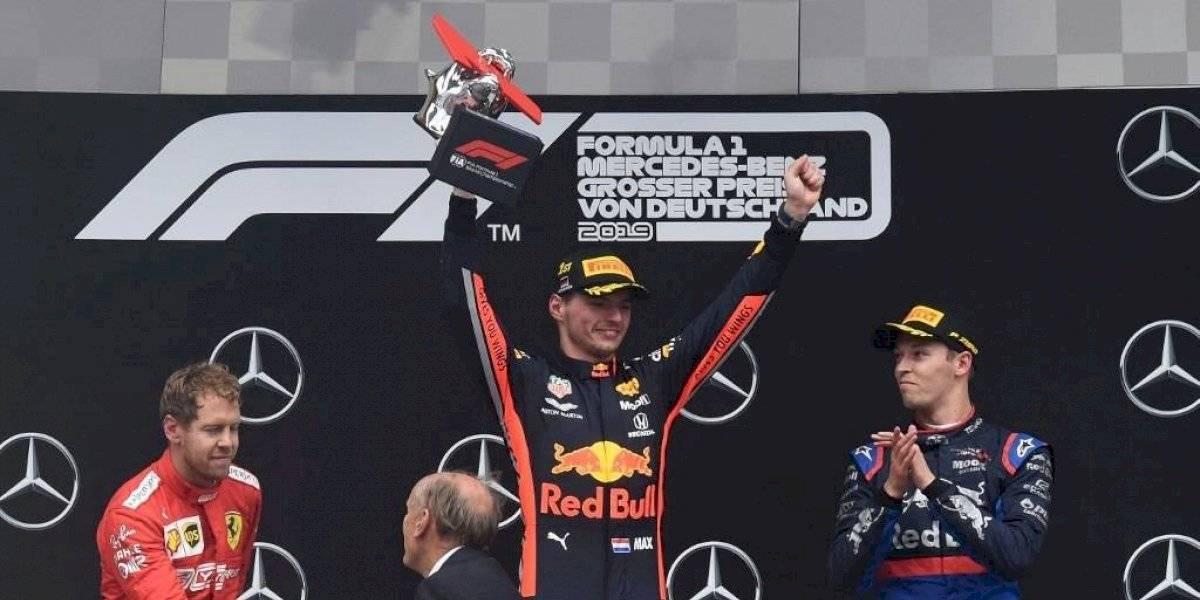 Verstappen gana el Gran Premio de Alemania; Hamilton fue noveno