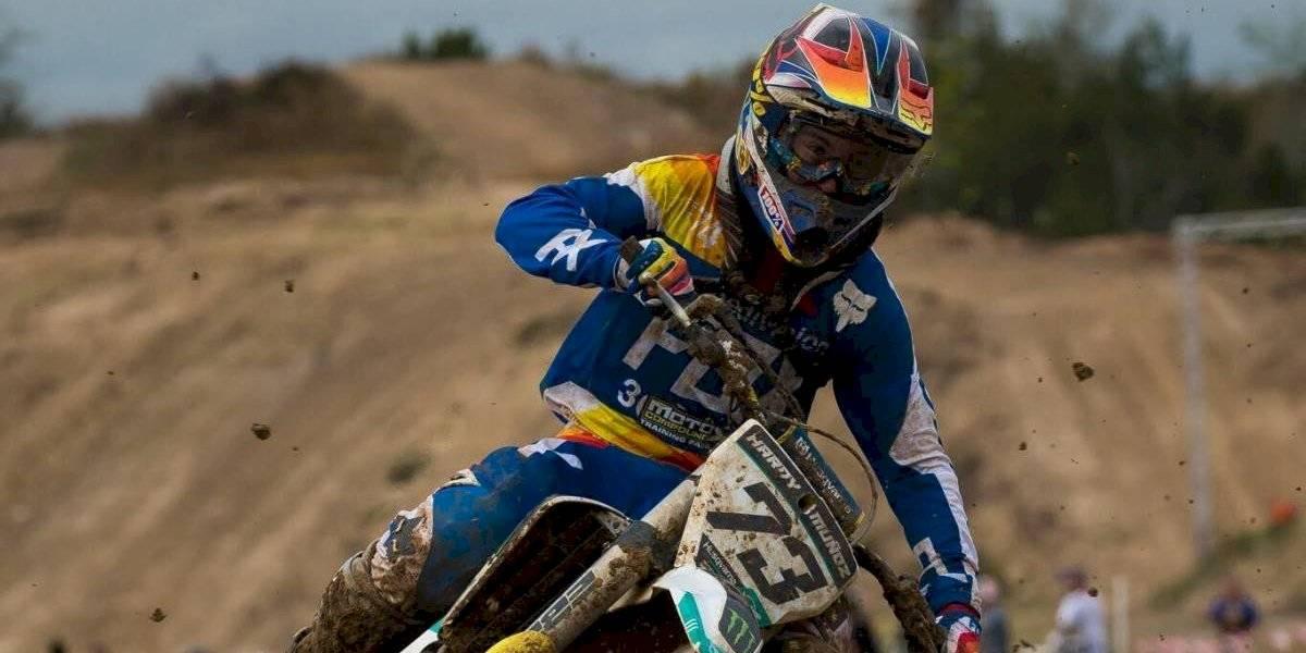 Hardy Muñoz se la juega en el motocross estadounidense