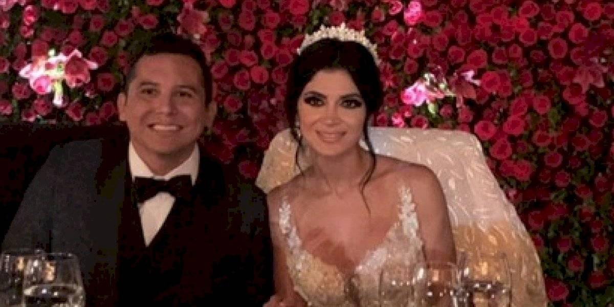 VIDEO. Internautas critican a Kim Flores por su frívola reacción en su boda con Edwin Luna