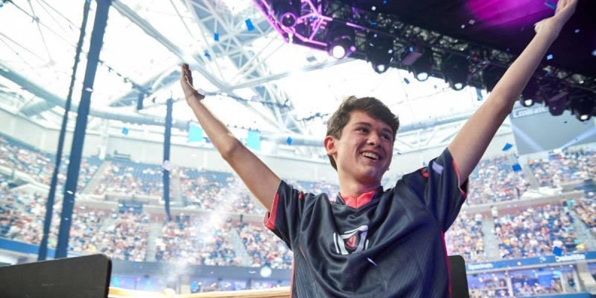 Kyle 'Bugha' Giersdorf gana Fortnite World Cup; se lleva 3 millones de dólares