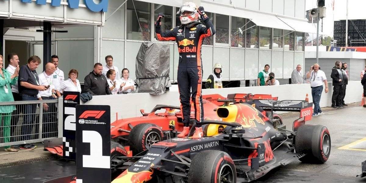 Sorpresa: no ganó Hamilton en la Fórmula 1 y Verstappen celebró en Alemania