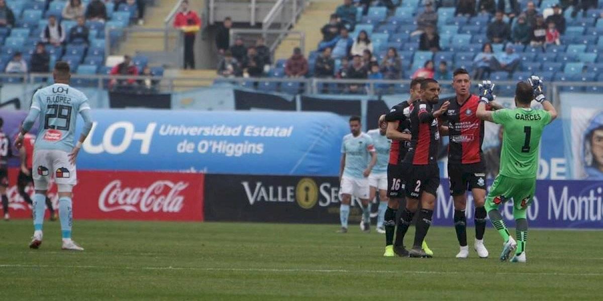 Deportes Antofagasta humilló a O'Higgins en Rancagua y de paso dejó a la U en zona de descenso