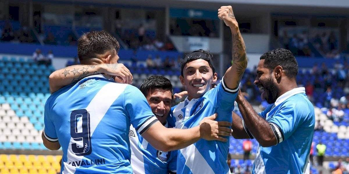 Puebla festejó su 75 aniversario derrotando al Betis
