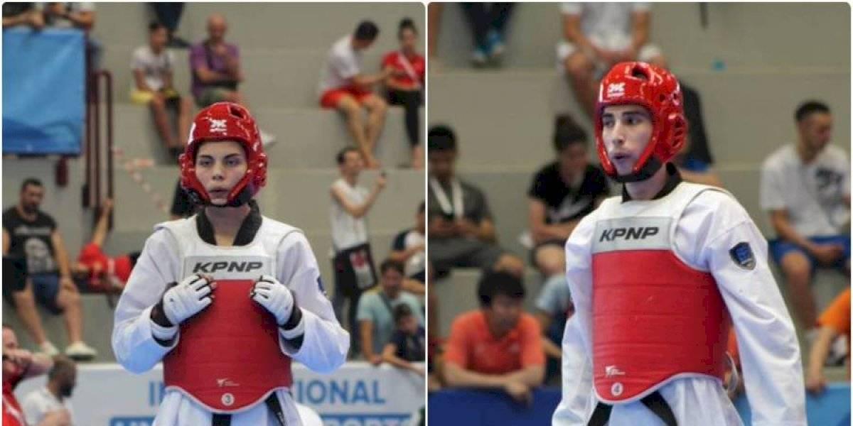 El taekwondo le dio dos medallas de bronce a Chile en los Panamericanos de Lima 2019