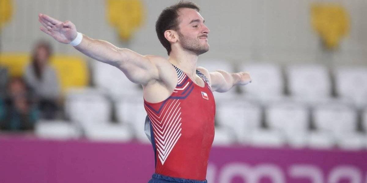 Juegos Panamericanos: Tomás González mostró sus credenciales con buena rutina en suelo