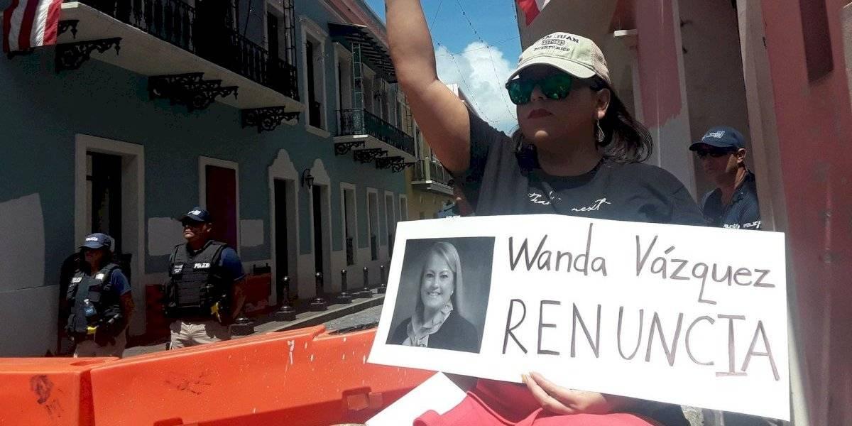 Wanda Vázquez ordena retiro de la Fuerza de Choque