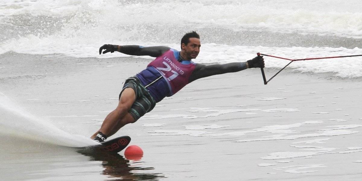 Felipe Miranda se tuvo que conformar con la plata en el salto de los Panamericanos de Lima 2019