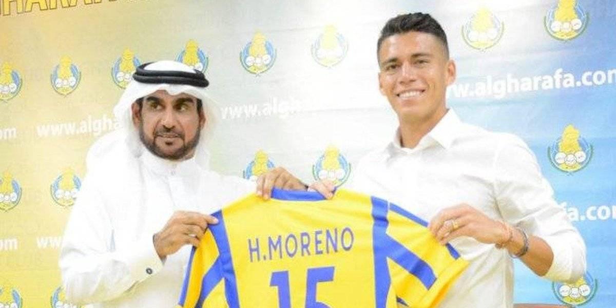 OFICIAL: Héctor Moreno fue presentado con el Al Gharafa y portará el número 15