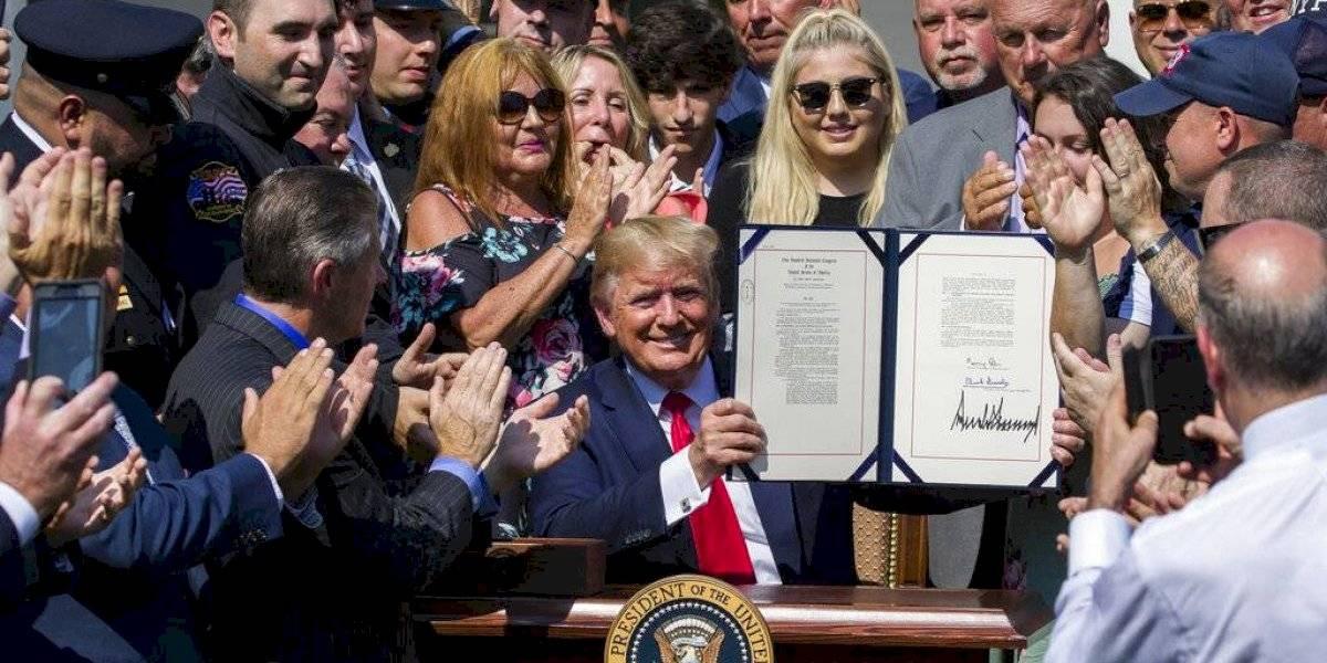 Trump garantiza recursos permanentes para el fondo 11S