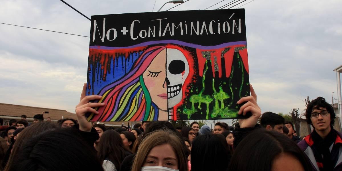 """Ministra Schmidt sobre último peak de contaminación en Quintero: """"Se piensa que es una infracción, pero no es así"""""""