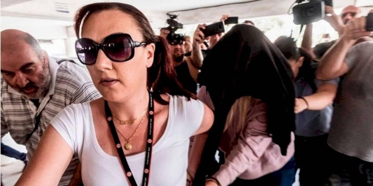 Detenida por falso testimonio la mujer británica que denunció a doce jóvenes israelíes de violación