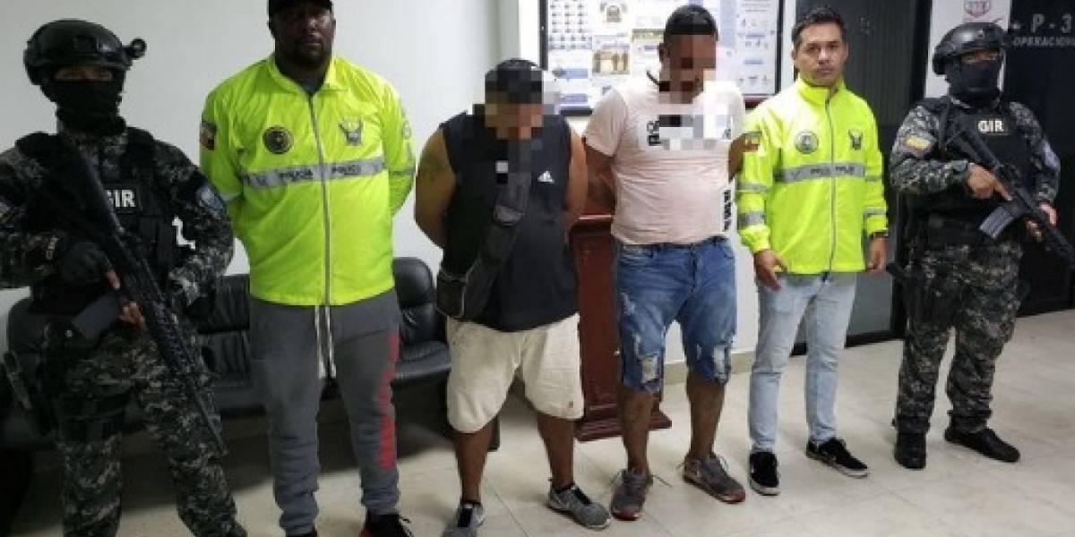 """Dos miembros de """"Oliver Sinisterra"""" fueron capturados en San Lorenzo"""