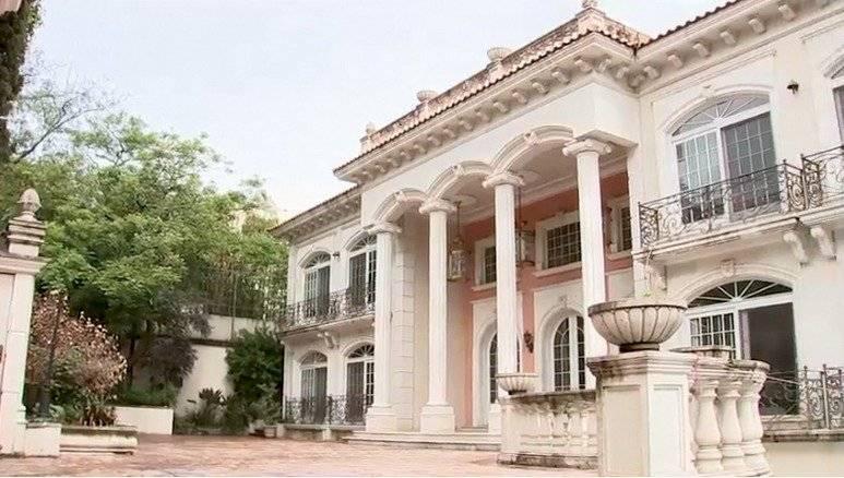 Casa incautada a Zhenli Ye Gon Foto: Gobierno de México