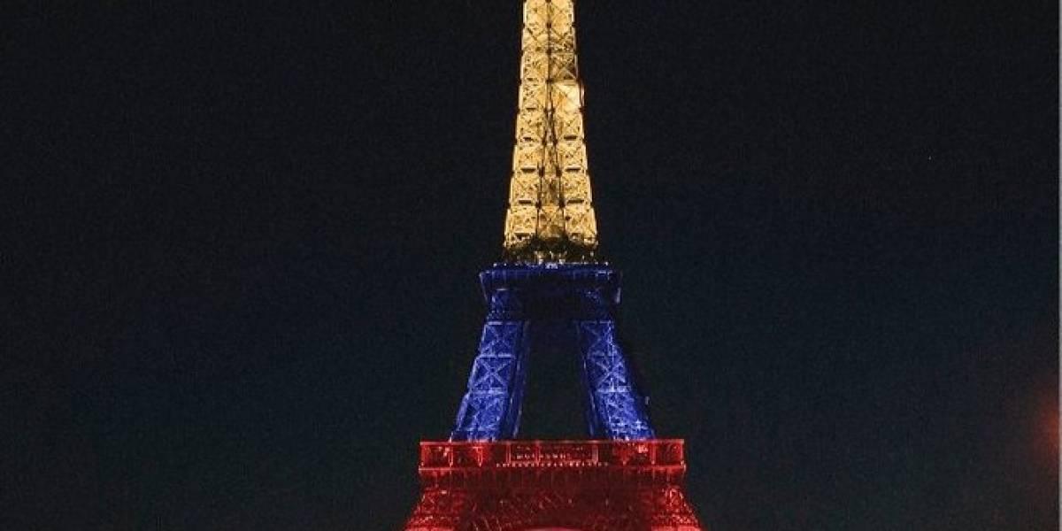 La imagen de la Torre Eiffel con los colores de Colombia por el triunfo de Egan Bernal en el Tour de Francia es falsa