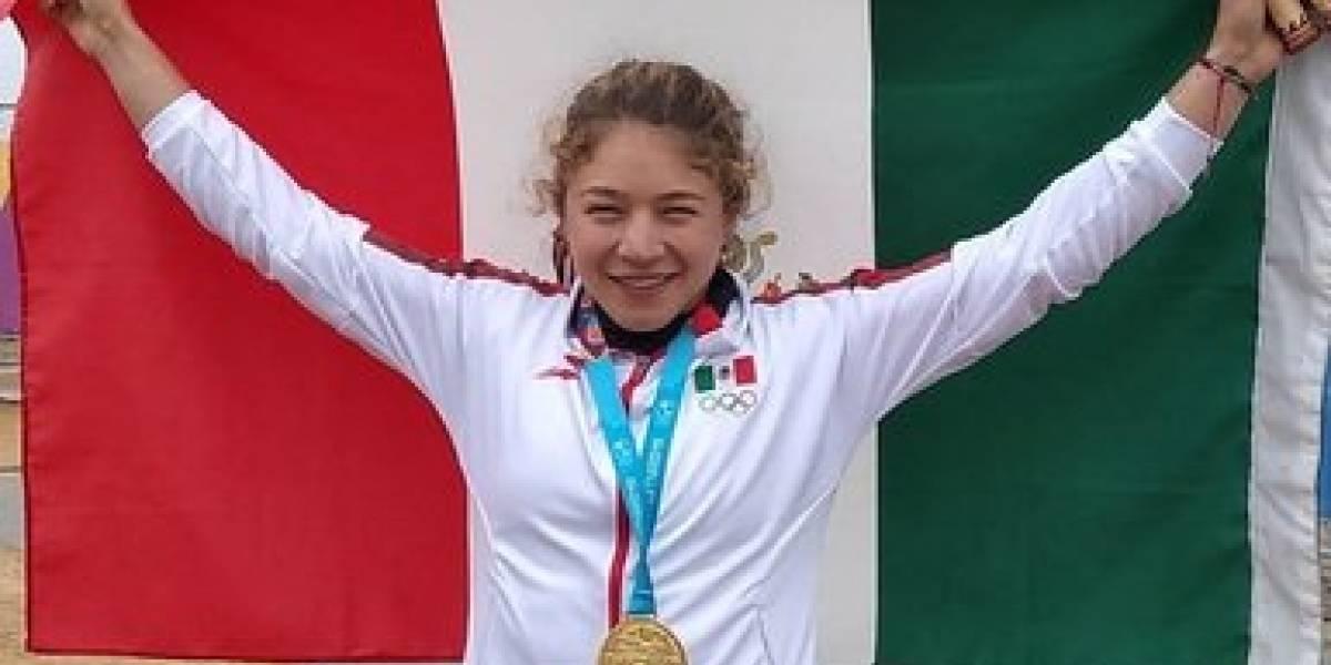 Beatriz Briones se cuelga el primer oro en canotaje para México