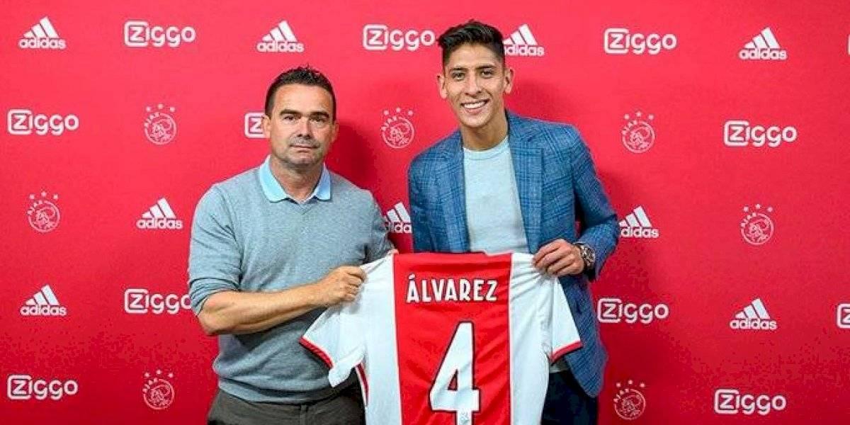 Edson Alvarez afirma que está enamorado del Ajax y Ámsterdam