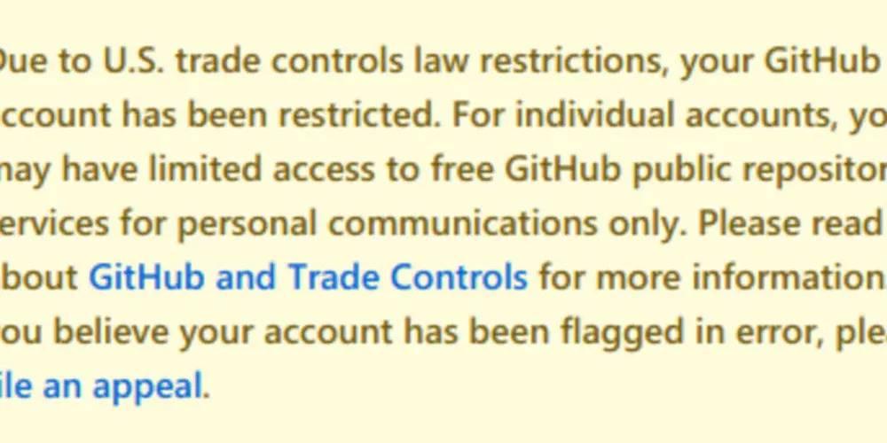 GitHub le cerró las puertas a Cuba, Siria y Corea del Norte por culpa de las sanciones