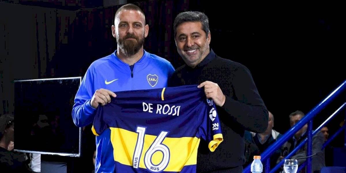 """De Rossi llegó a Boca para olvidar la pesadilla de la última Libertadores: """"El objetivo es ganarla y quiero dar mi aporte"""""""