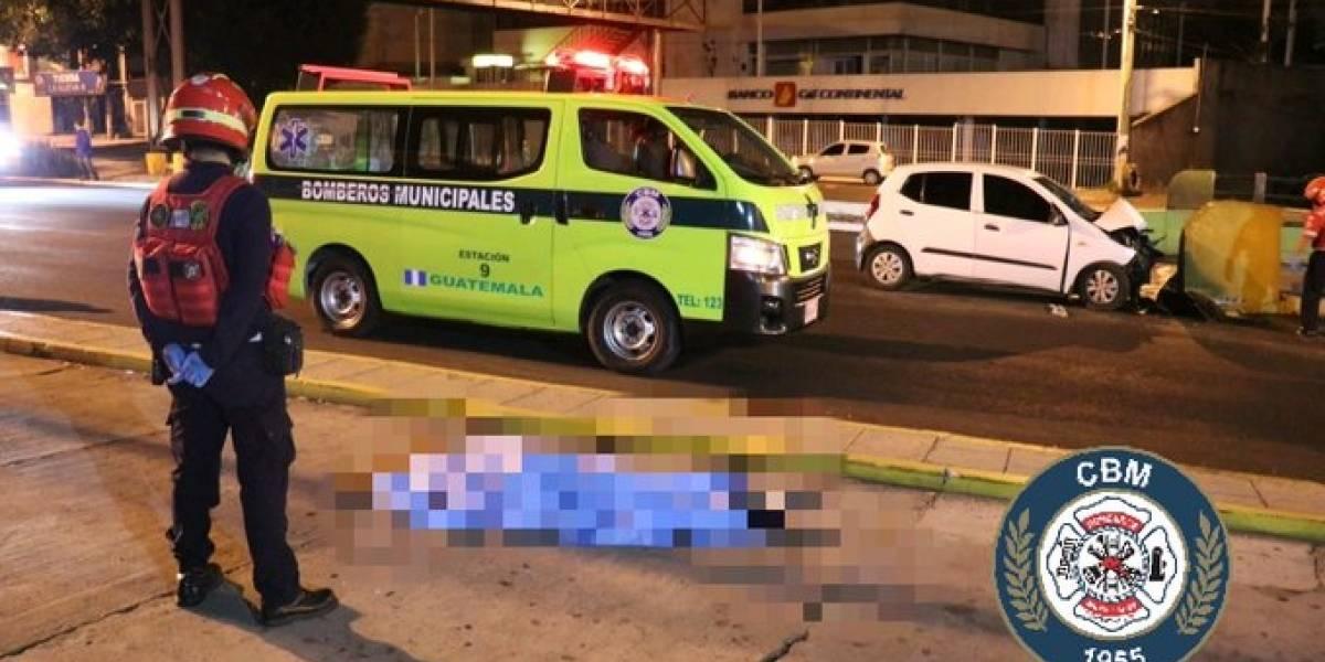 Accidentes de tránsito dejan dos muertos y un herido