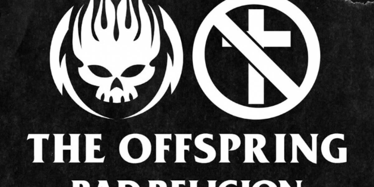 The Offspring e Bad Religion fazem show juntos em São Paulo