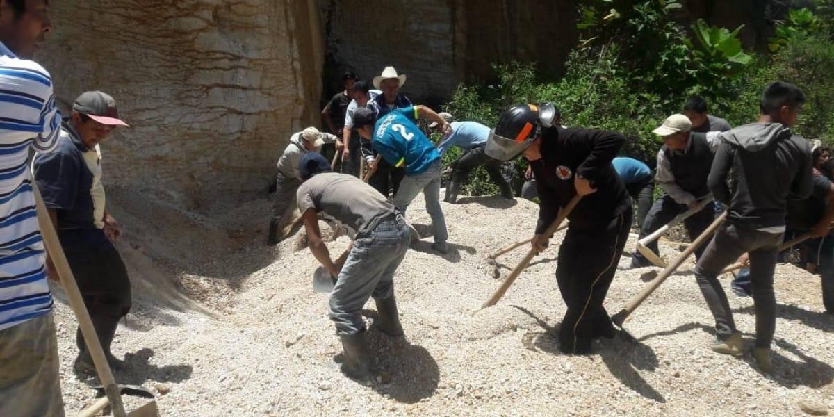 Extraían arena y murieron soterrados en San Juan Ostuncalco
