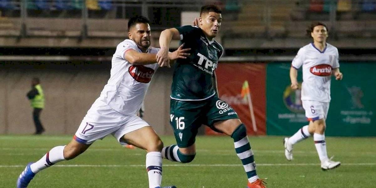 Wanderers lo perdió sobre el final ante Melipilla y no pudo alcanzar el liderato de la Primera B