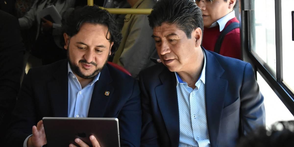 """Jorge Yunda: """"Estamos empeñados con eliminar los peajes"""""""