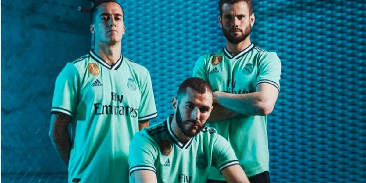 Real Madrid presenta su jersey alternativo