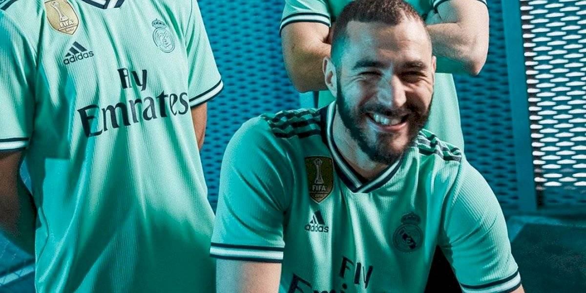 El Real Madrid presenta su tercera equipación
