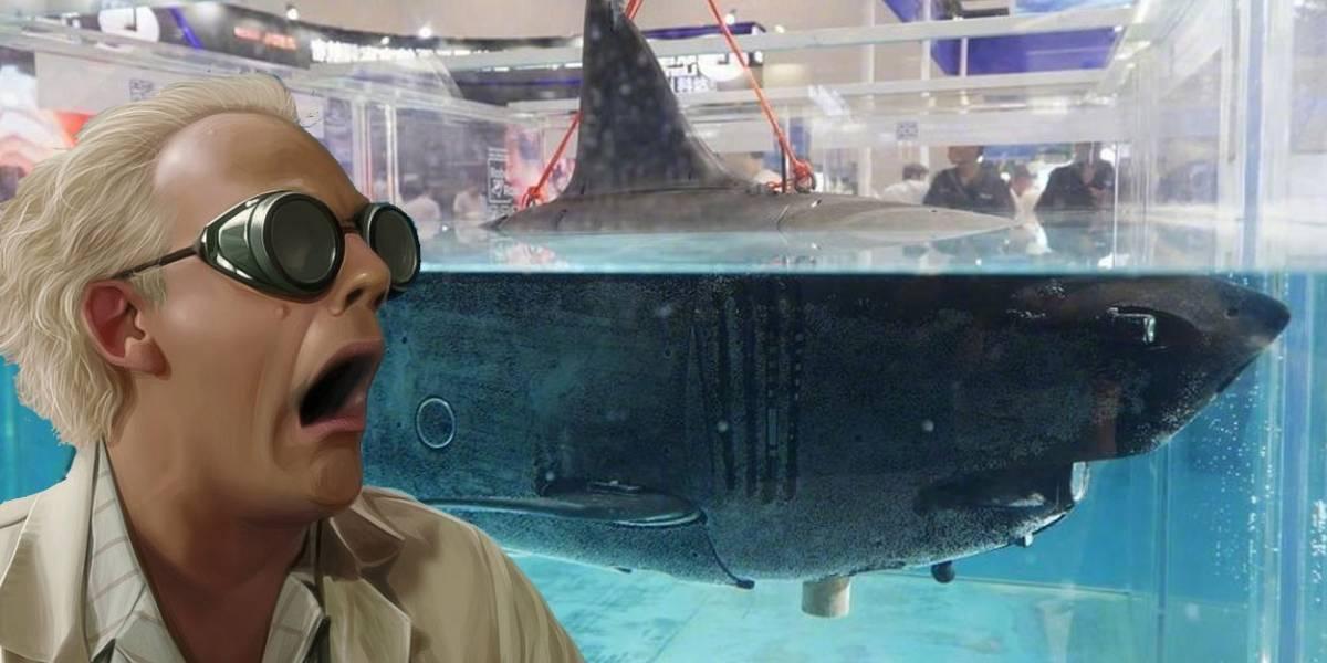 Lo último en drones: China crea tiburón robot y espía