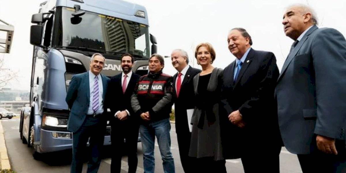 La cabina S, el regalo de Scania Chile para los camioneros