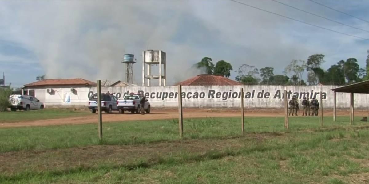 Quatro presos são mortos durante transferência de Altamira para Belém
