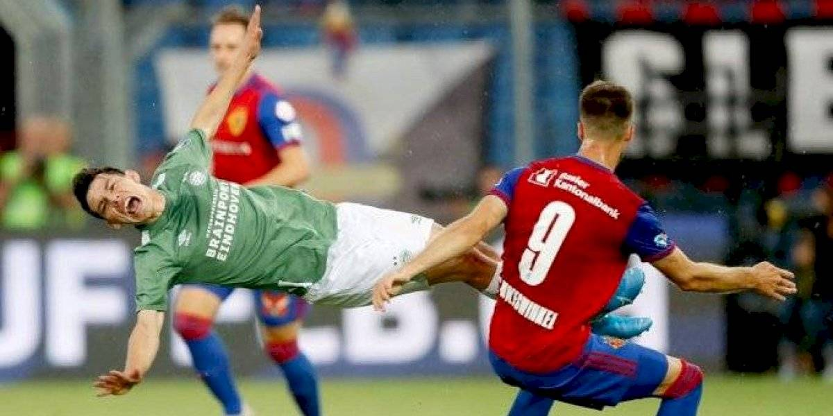 PSV cae ante el Basilea y queda fuera de la Champions League
