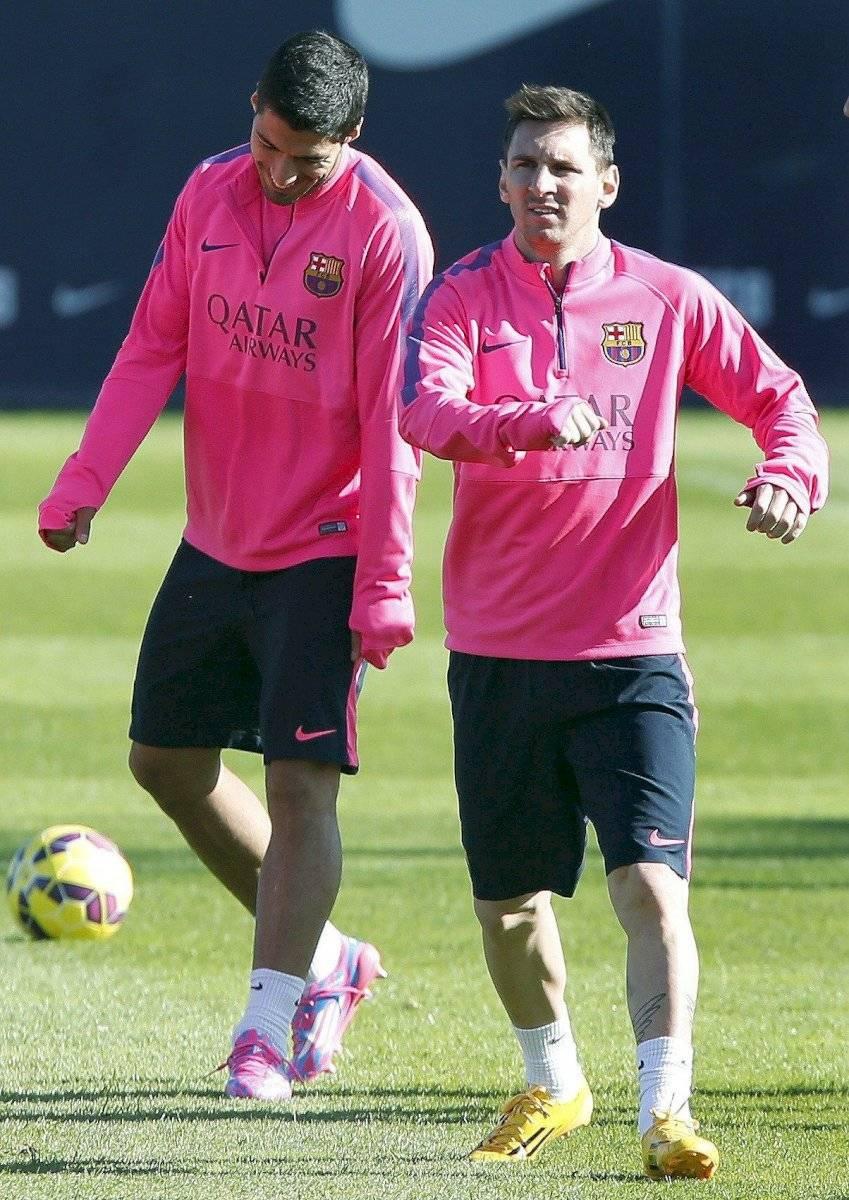 Messi y Suarez