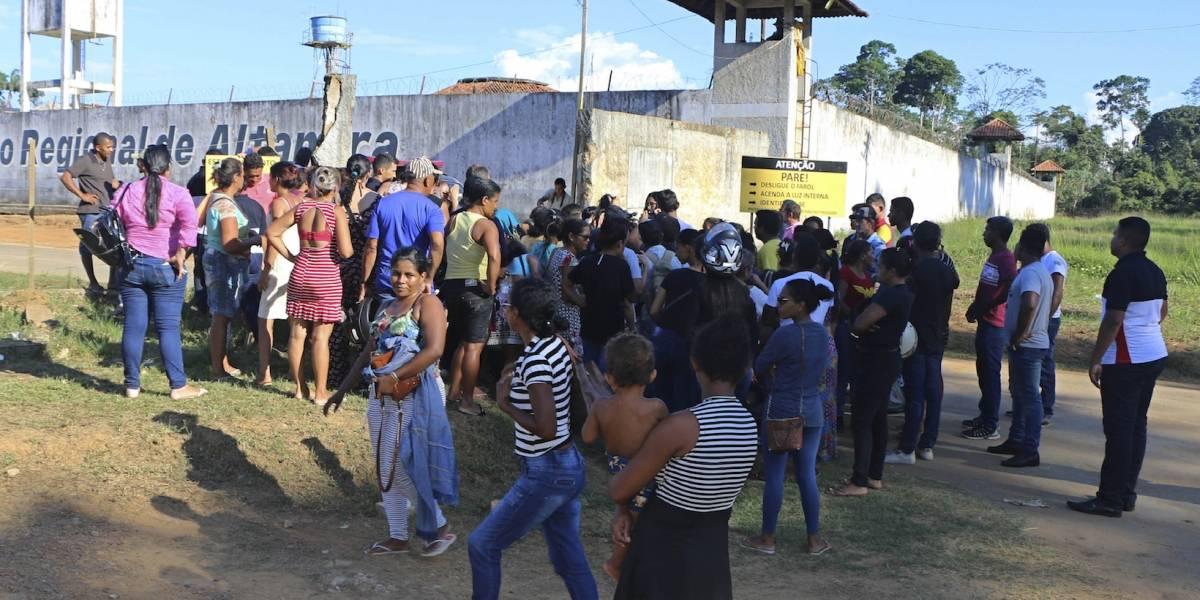 Identifican a presos muertos en motín carcelario en Brasil