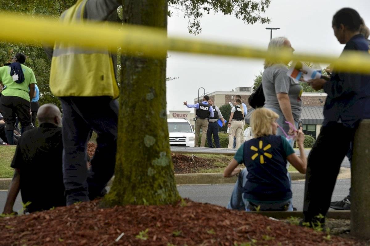 Escenas tras el tiroteo en Mississippi Foto: AP