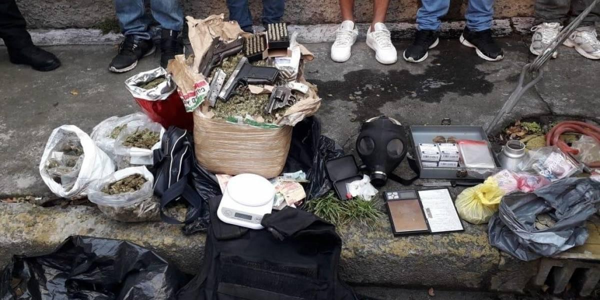 Detienen a cinco por balacera en Iztapalapa