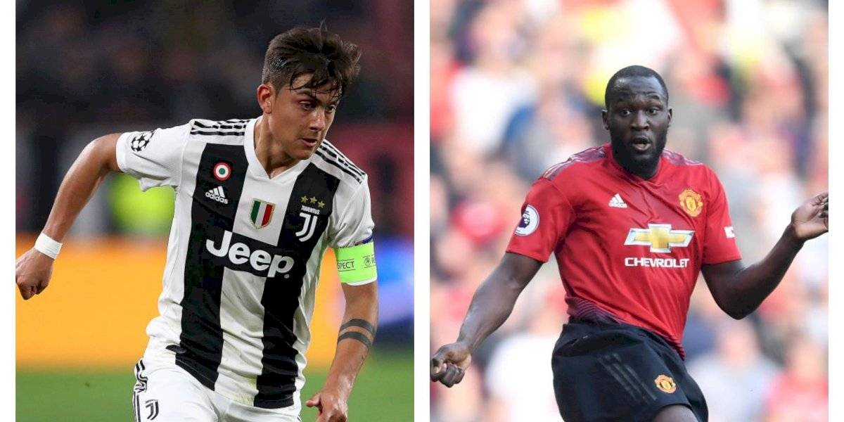Juventus quiere a Lukaku y el Manchester United podría juntar a Dybala con Alexis Sánchez