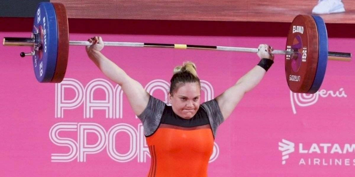 María Fernanda Valdés hizo historia y se quedó con el oro en las pesas de los Juegos Panamericanos