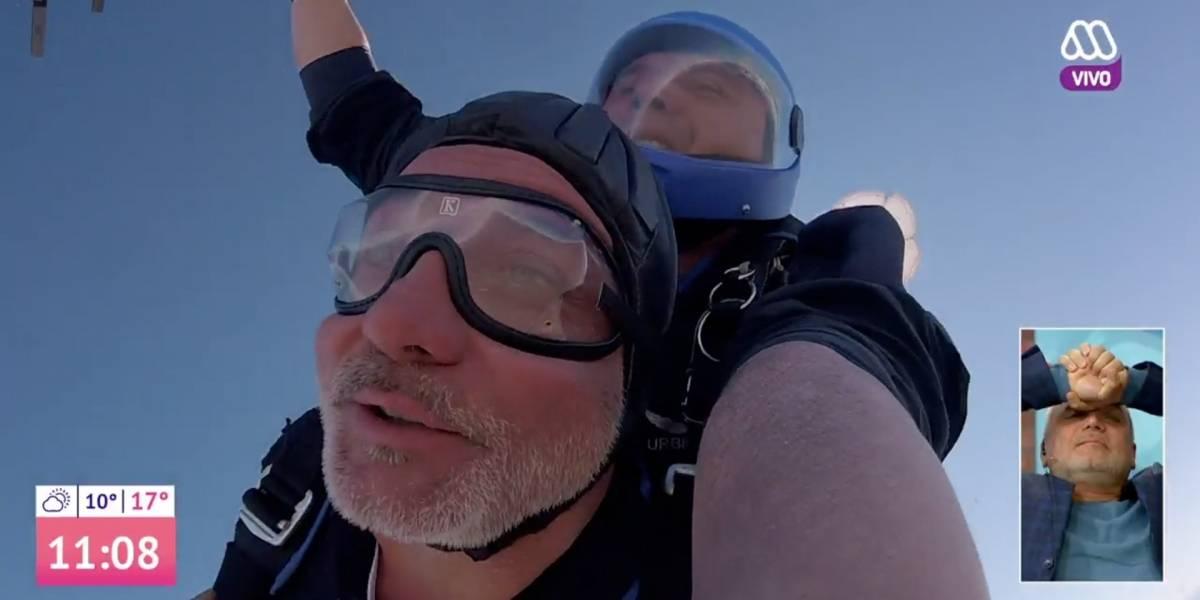 Contraloría investigará eventuales gastos de la Fach en lanzamiento en paracaídas de Luis Jara