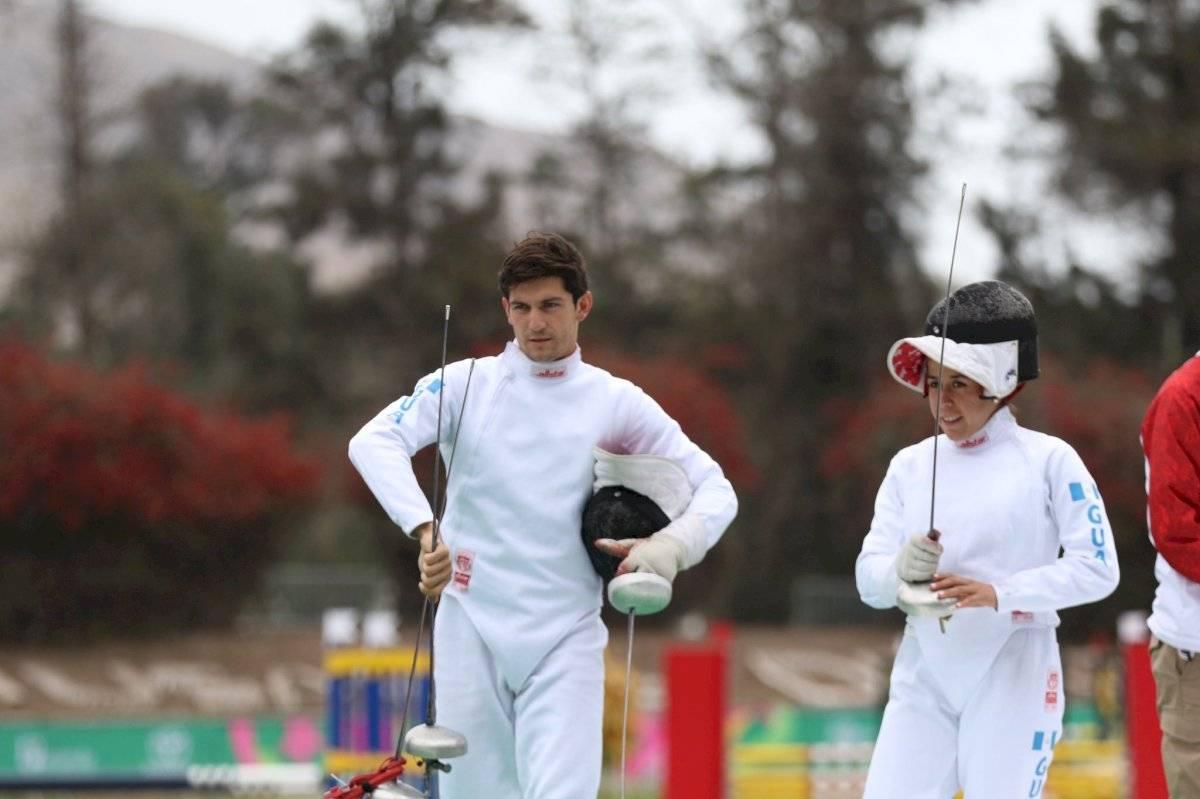 Charles Fernández y Ximena Diéguez ganan bronce Juegos Panamericanos