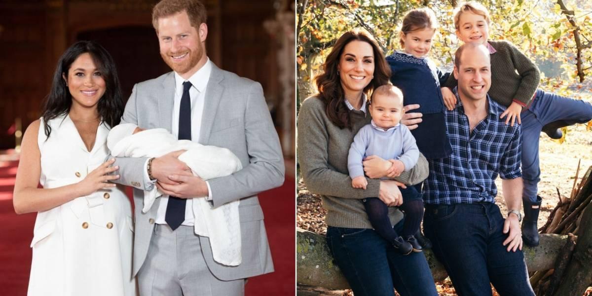 Meghan Markle e Harry não pretendem seguir os passos de Kate Middleton e William quando o assunto são filhos