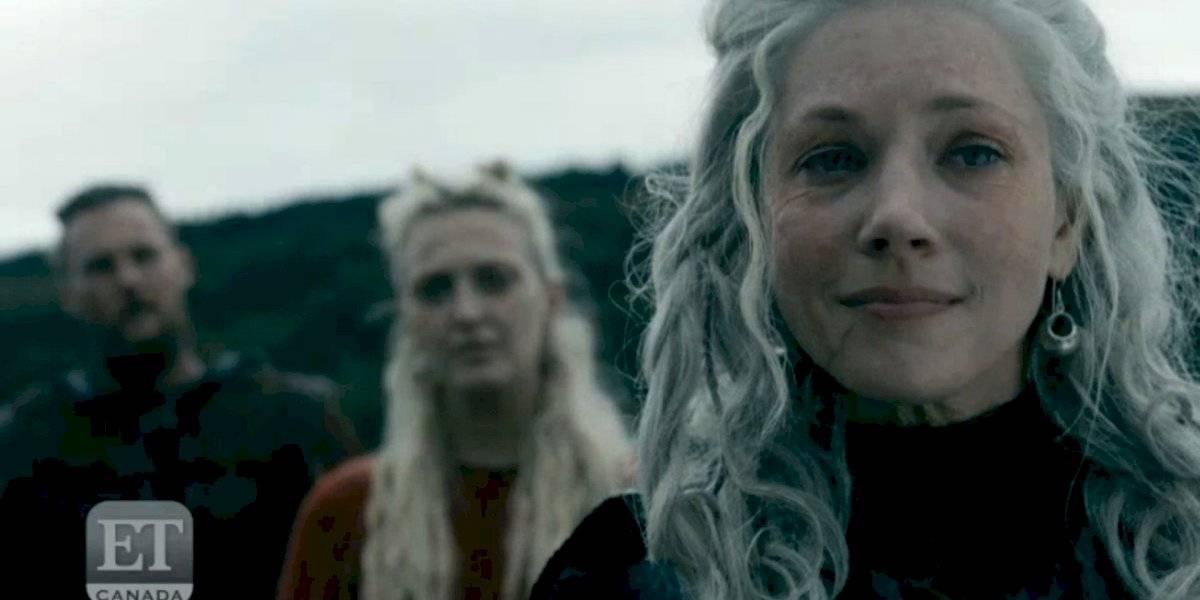 Vikings: Novo teaser da 6ª temporada revela túmulo e mar de fogo