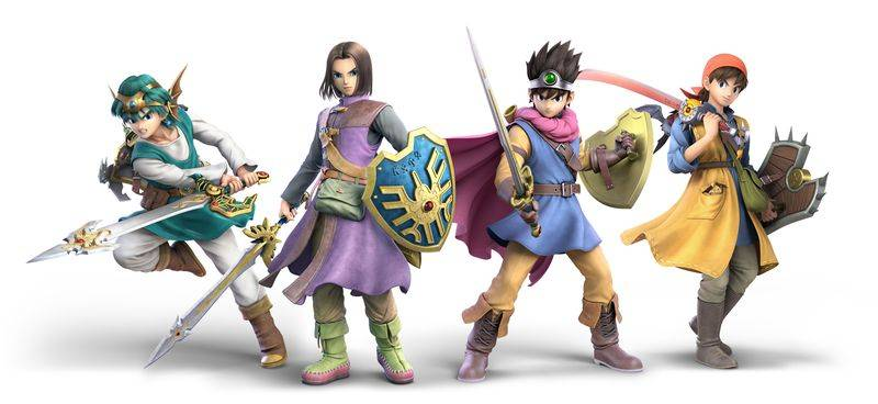 ¡Sorpresa! The Hero de Dragon Quest se une hoy a Super Smash Bros. Ultimate
